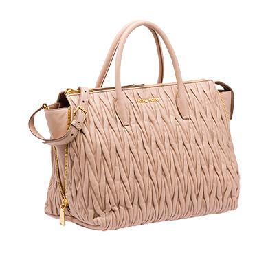 Leather Miu Miu Avenue Travel Bag  cf88e0021c5fc