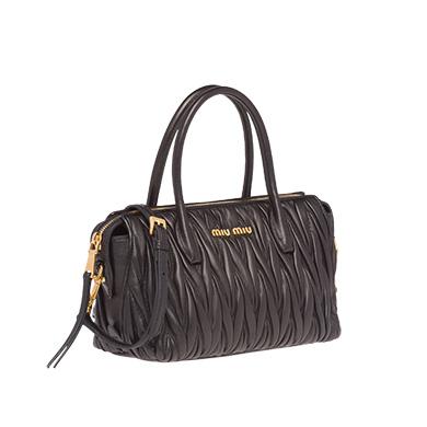 Matelassé Leather Miu Miu Avenue Bag  c4bd39dd71e82