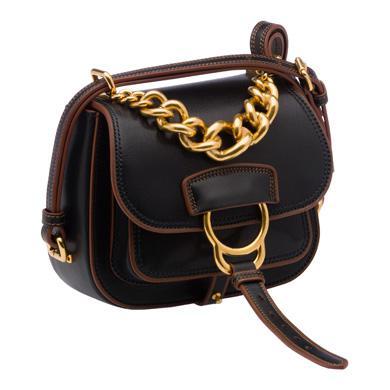 Miu Miu  Madras Leather Miu Miu Dahlia Bag