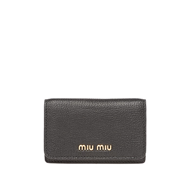 MADRAS LEATHER BUSINESS CARD HOLDER