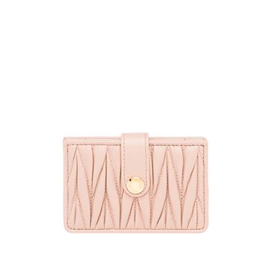 Miu Miu  Leather Credit Card Holder