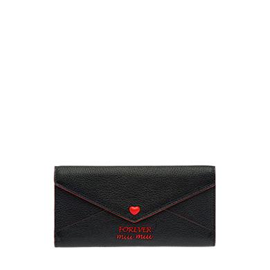 Forever Madras Wallet in Black