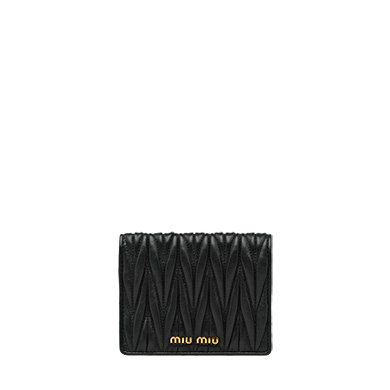 Wallet for Women On Sale, Pyrite, Leather, 2017, One size Miu Miu