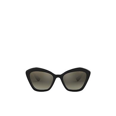 eb4043b23 ... Miu Miu Logo eyewear – Alternative fit MiuMiu ANTHRACITE GRAY TO LAKE  BLUE GRADIENT LENSES WITH ...