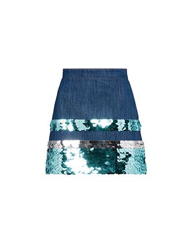 Miu Miu  Denim Skirt with Sequins