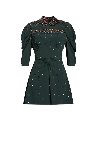 Sablé Dress with Studs