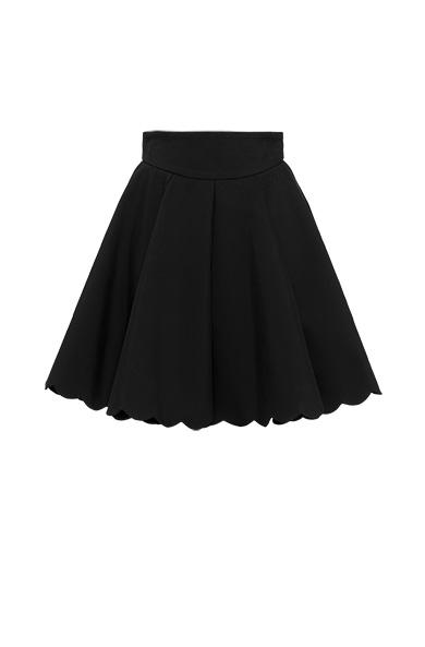 Cotton blend skirt