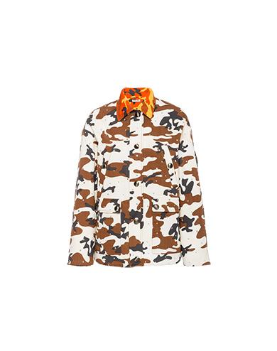 Miu Miu Embellished gabardine jacket