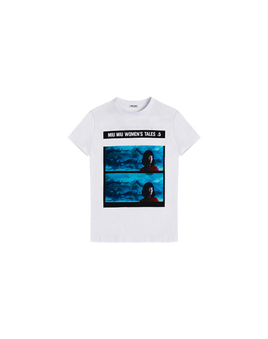 Miu Miu Miu Miu Tales jersey T-shirt
