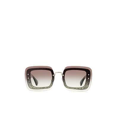 ef5f9f57549 Miu Miu Reveal square eyewear MiuMiu GRADIENT ANTHRACITE GRAY LENSES ...