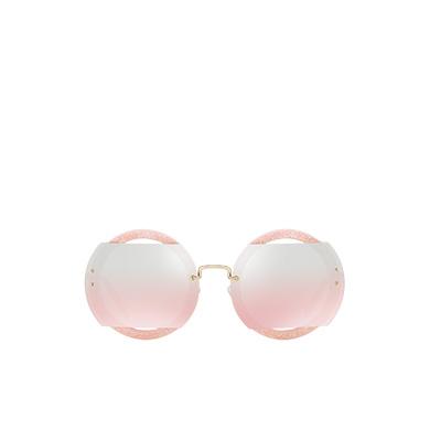 7fdc60df048 Miu Miu Reveal glitter eyewear MiuMiu DARK ROSE MIRRORED LENSES ...
