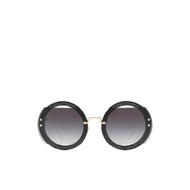 ad4b173bfc9 ... Miu Miu Reveal glitter eyewear MiuMiu GRADIENT SMOKY GRAY LENSES ...