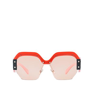 Single Lens Miu Miu Sorbet Eyewear MiuMiu PINK LENSES ... 17f2fe0c32