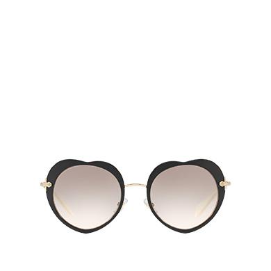 6319b231654 Miu Miu Noir Heart-Shaped Eyewear MiuMiu GRADIENT ANTHRACITE GRAY TO MAUVE  LENSES ...