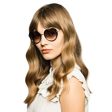 affcab57fbd ... Miu Miu Noir Heart-Shaped Eyewear MiuMiu GRADIENT ANTHRACITE GRAY TO  MAUVE LENSES