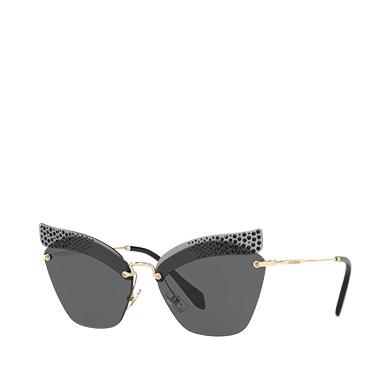 Miu Miu Folie rhinestone sunglasses DtoKZZ