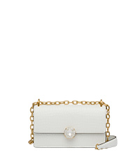 b38d7e315d6f Miu Solitaire patent leather bag WHITE MiuMiu