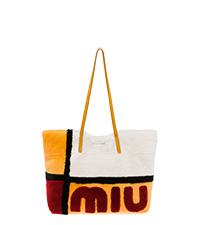 手提袋  黄玉色 + 白色