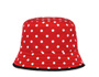 Polka-dot faille hat Black MiuMiu