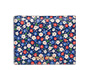Printed glacé leather wallet Bluette MiuMiu