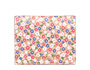 Printed glacé leather wallet Orchid Pink MiuMiu