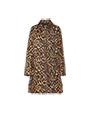 Technical twill puffer jacket Khaki MiuMiu