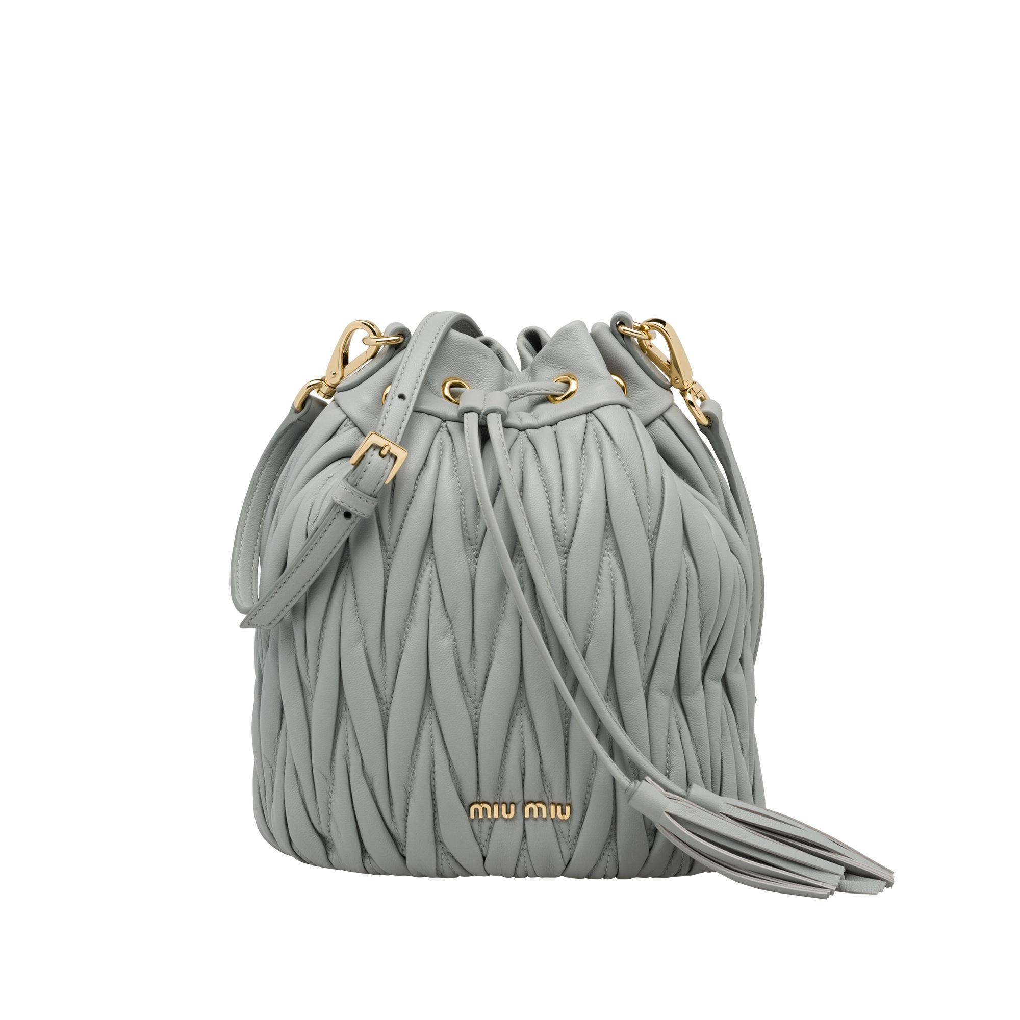 231c26244f Matelassé Leather Bag