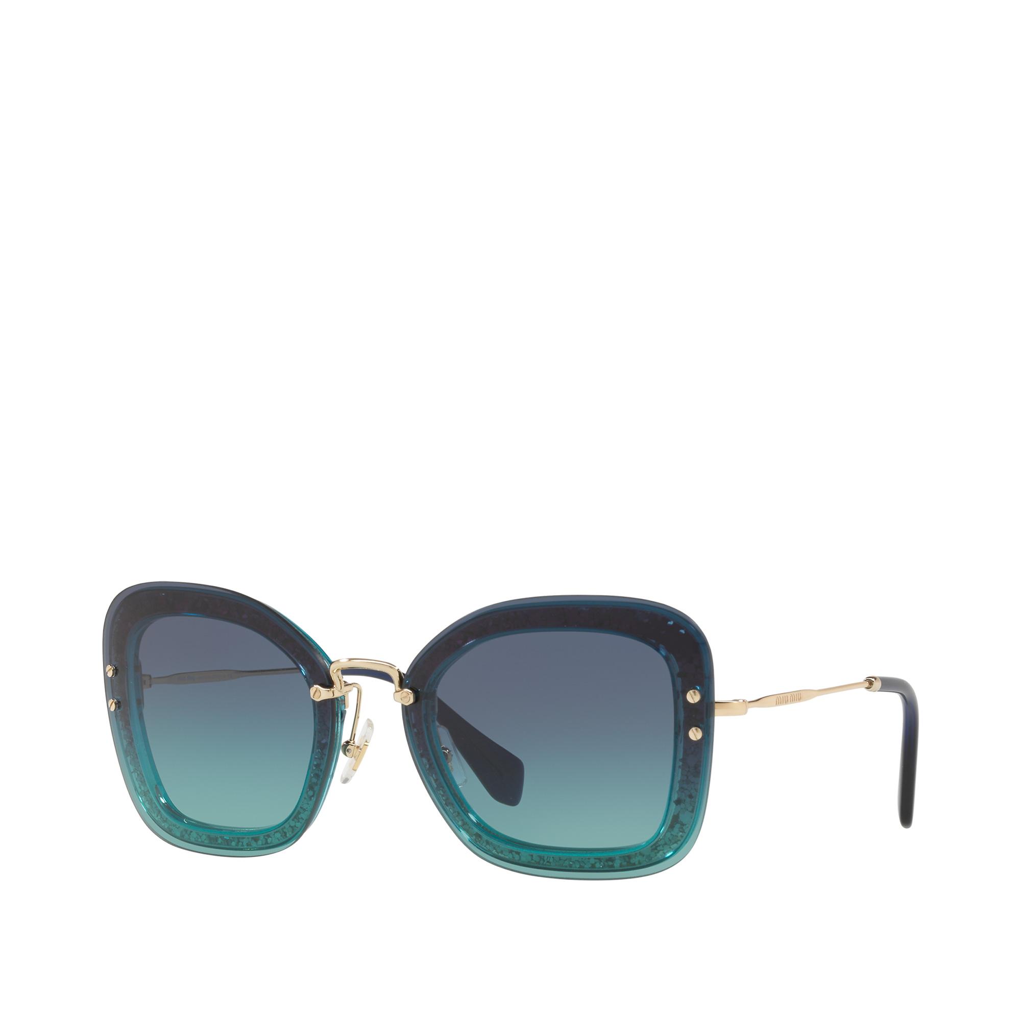 1b117803af4f Miu Miu Reveal glitter eyewear